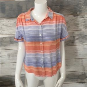 Like new button down short sleeved shirt